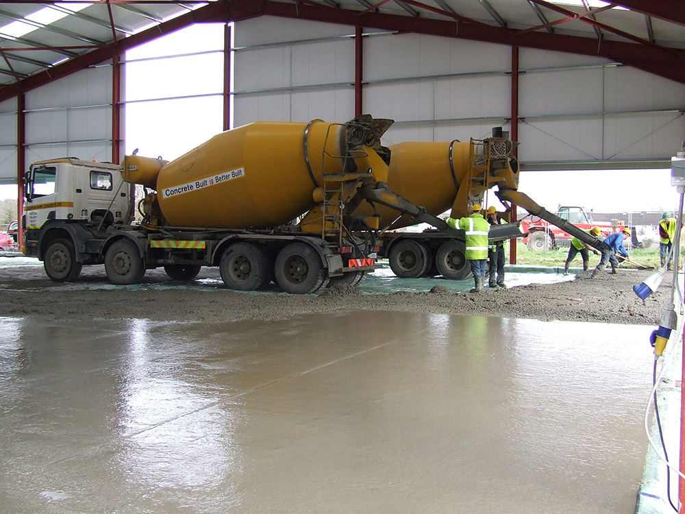 Readymix concrete ducon cnoncrete cork