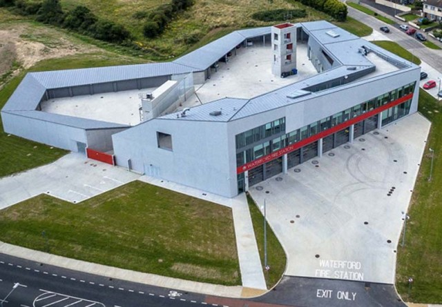 waterford fire station ducon concrete project cork
